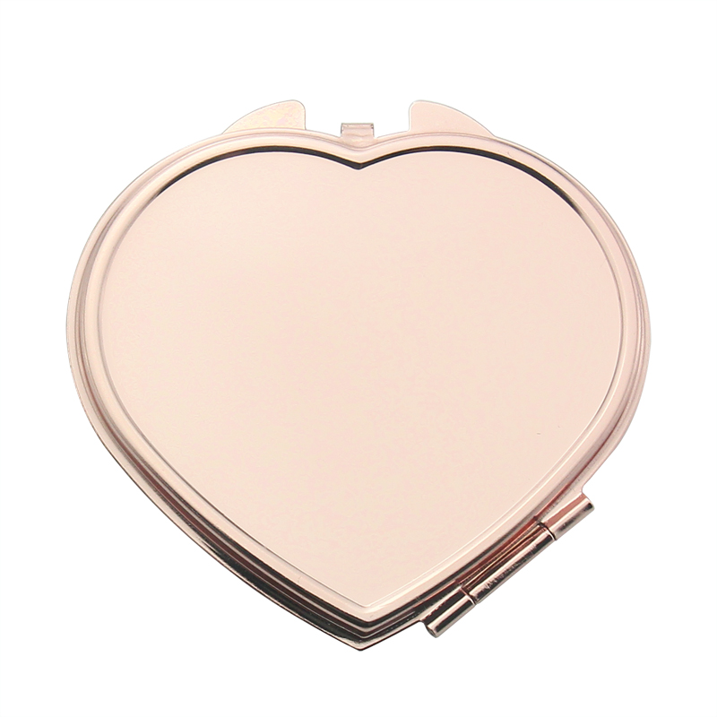 plane pocket mirror DIY customize purse mirror free engraving