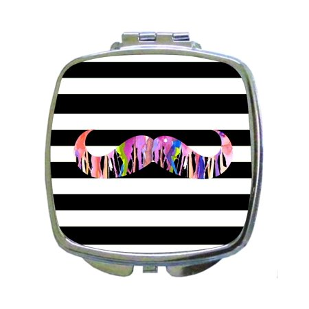 magic color printed compact mirror Mother's Day gift in hand baggage