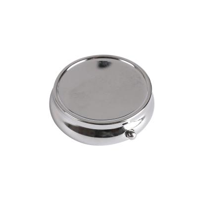 logo printed round pill holder, customized enamel daily pill