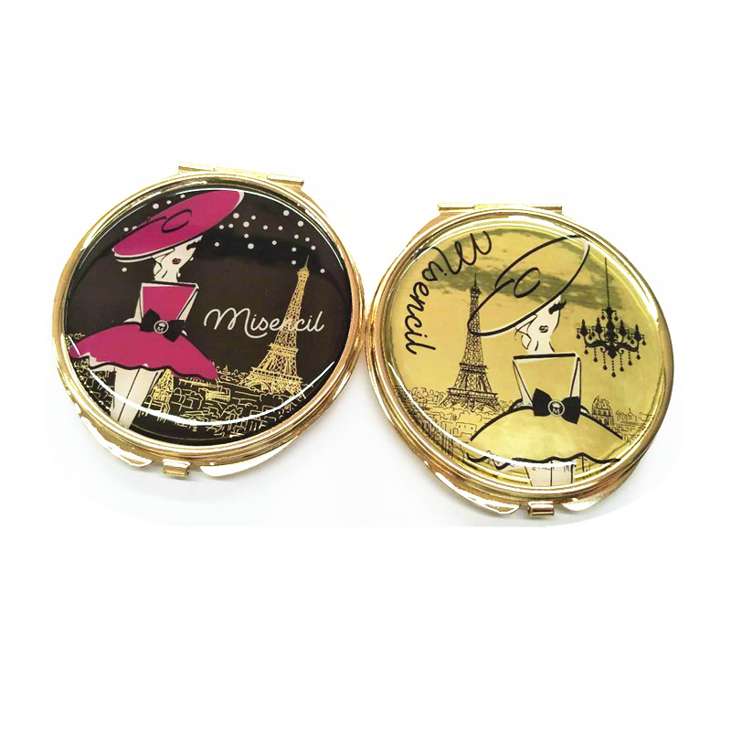 logo epoxy resin compact mirror what is the best makeup mirror to buy