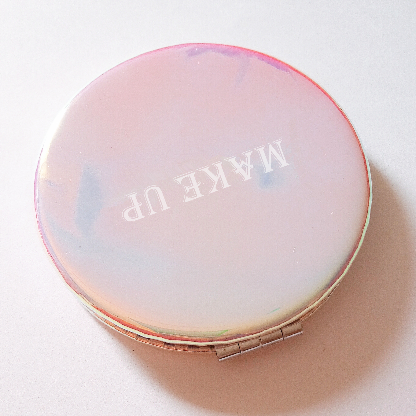 Personalized Compact Mirror Different colors in Different angles Rose Gold Monogrammed Mirror Personalized Gifts Bridal Party Proposal Gift Unique Bridal Party Gifts